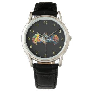 Batman Logo Neon/80s Graffiti Watch