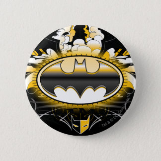 Batman Logo with Cars 6 Cm Round Badge