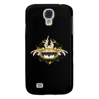 Batman Logo with Cars Galaxy S4 Case