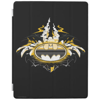 Batman Logo with Cars iPad Cover