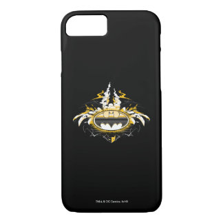 Batman Logo with Cars iPhone 8/7 Case