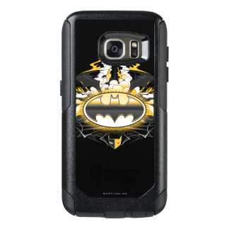 Batman Logo with Cars OtterBox Samsung Galaxy S7 Case