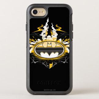Batman Logo with Cars OtterBox Symmetry iPhone 8/7 Case