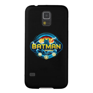 Batman Logo with Icons Case For Galaxy S5