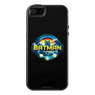 Batman Logo with Icons OtterBox iPhone 5/5s/SE Case