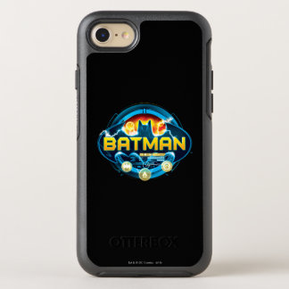Batman Logo with Icons OtterBox Symmetry iPhone 8/7 Case