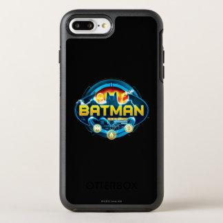 Batman Logo with Icons OtterBox Symmetry iPhone 8 Plus/7 Plus Case
