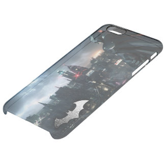 Batman Looking Over City Clear iPhone 6 Plus Case
