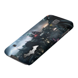 Batman Looking Over City Galaxy S5 Covers