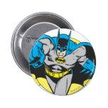 Batman Lunges Forward 6 Cm Round Badge
