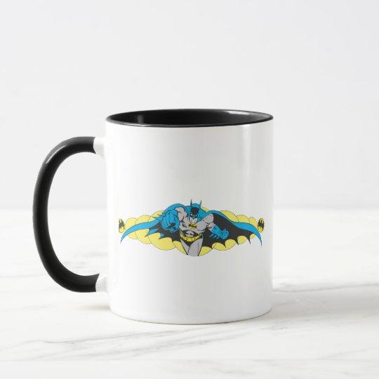 Batman Lunges Forward Mug