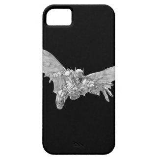 Batman Lunging Forward Drawing 2 iPhone 5 Cover
