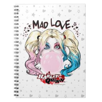 Batman | Mad Love Harley Quinn Chewing Bubble Gum Notebook