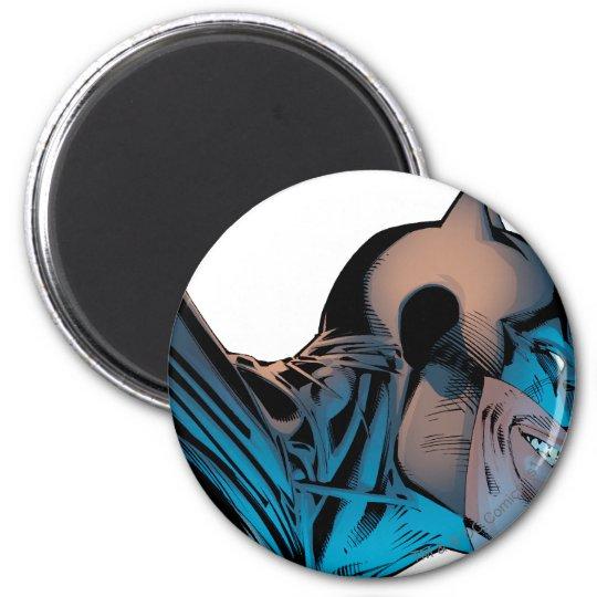 Batman - Masked Head from Below 6 Cm Round Magnet