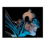 Batman - Masked Head from Below Post Cards