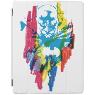 Batman Neon Marker Collage iPad Cover