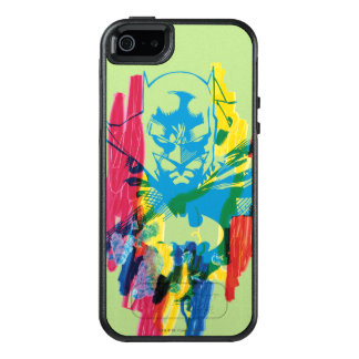 Batman Neon Marker Collage OtterBox iPhone 5/5s/SE Case
