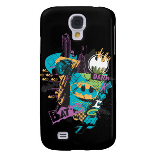 Batman Neon The Dark Knight Collage Galaxy S4 Case