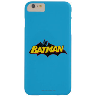 Batman | Old School Logo Barely There iPhone 6 Plus Case
