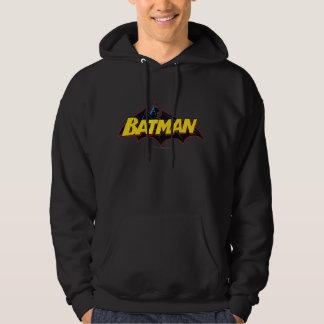Batman   Old School Logo Hoodie