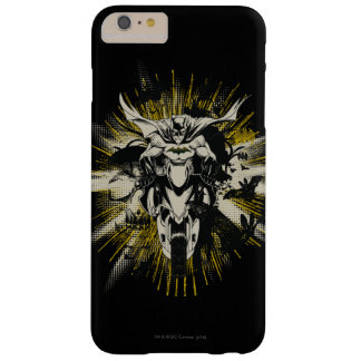 Batman on Bike Barely There iPhone 6 Plus Case