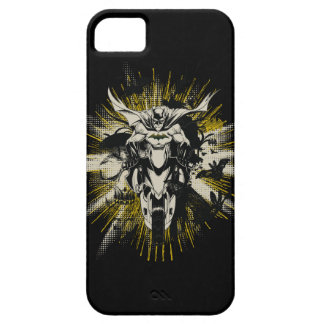 Batman on Bike iPhone 5 Cover