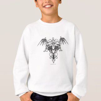 Batman on Bike Sketch Sweatshirt