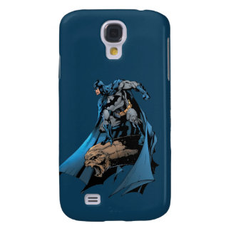 Batman on gargoyle galaxy s4 case