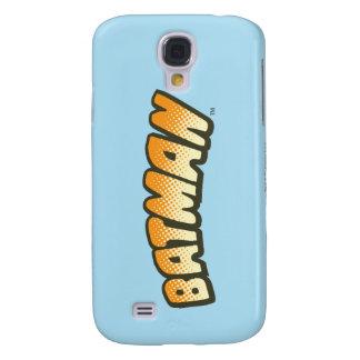 Batman | Orange Halftone Logo Galaxy S4 Case