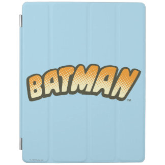 Batman | Orange Halftone Logo iPad Cover