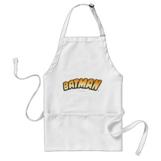 Batman | Orange Halftone Logo Standard Apron