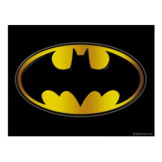 Batman Oval Logo Postcard