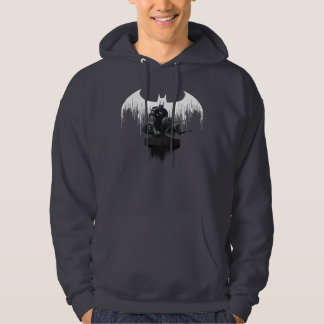 Batman Perched on a Pillar Hoodie