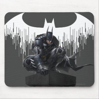 Batman Perched on a Pillar Mouse Mat