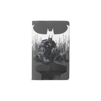 Batman Perched on a Pillar Pocket Moleskine Notebook