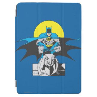 Batman Perches On Stone Lion iPad Air Cover
