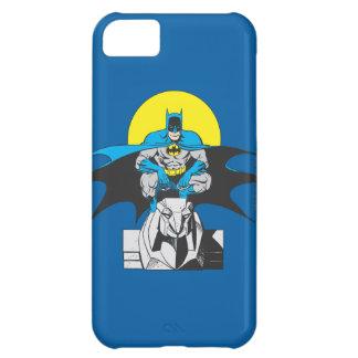 Batman Perches On Stone Lion iPhone 5C Case