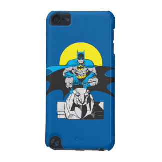 Batman Perches On Stone Lion iPod Touch 5G Covers