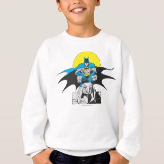Batman Perches On Stone Lion Sweatshirt