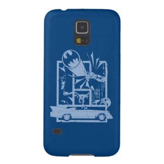 Batman - Picto Blue Galaxy S5 Covers