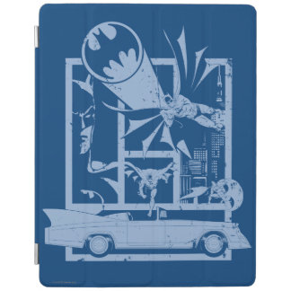 Batman - Picto Blue iPad Cover