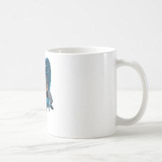 Batman Punch Basic White Mug