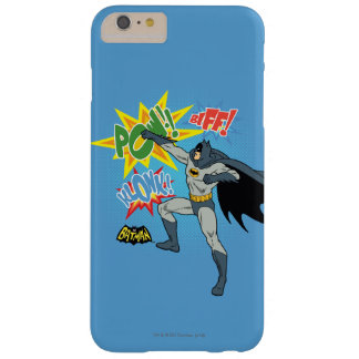 Batman Punching Graphic Barely There iPhone 6 Plus Case