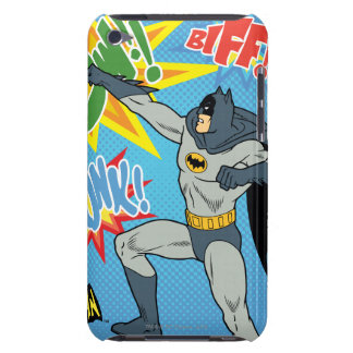 Batman Punching Graphic iPod Touch Case