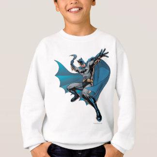 Batman ready to throw sweatshirt