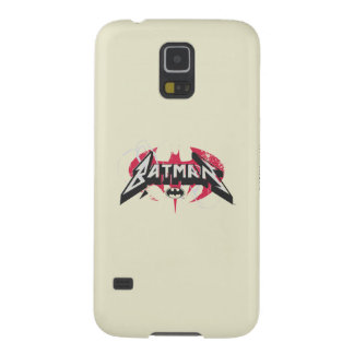 Batman | Red and Black Logo Galaxy S5 Covers