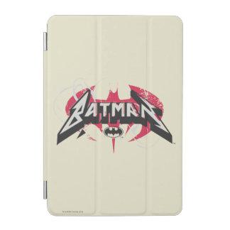 Batman   Red and Black Logo iPad Mini Cover