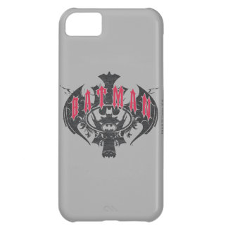 Batman | Red and Black Logo iPhone 5C Case