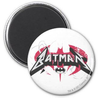 Batman | Red and Black Logo Magnet