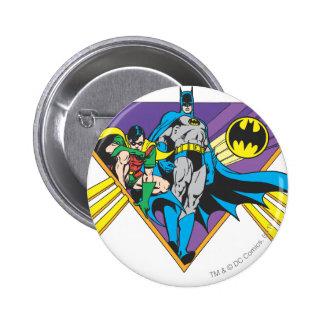 Batman & Robin 2 6 Cm Round Badge
